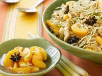Aromatic Fruit with Noodles recipe