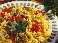 Spiced Rice with Lamb (Biryani) recipe
