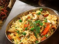 Spiced Rice with Vegetables recipe