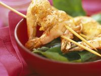 Spiced Shrimp Skewers recipe