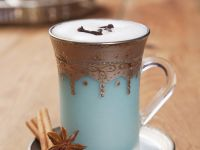 Spiced Tea with Milk Foam recipe