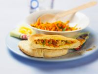 Spiced Vegetable Pittas recipe