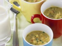 Spiced Vegetarian Soup Mugs recipe