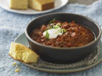 Spicy Beef and Bean Stew recipe