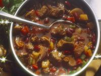 Spicy Beef Stew with Kidney Beans recipe