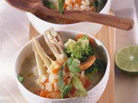 Spicy Broccoli Coconut Soup recipe