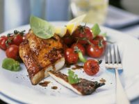Spicy Chicken Breast with Cherry Tomatoes recipe