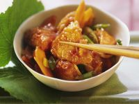 Spicy Chicken Breast with Vegetables recipe