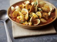 Spicy Clam and Pork Stew recipe