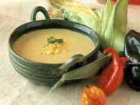 Spiced Sweetcorn Bisque recipe