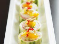 Cucumber Sushi Rolls recipe