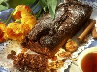 Spicy Fruit and Nut Cake recipe