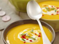 Spicy Gourd Veloute recipe
