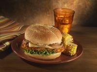 Spicy Grilled Chicken Burgers recipe