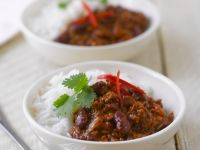 Spicy Kidney Bean and Beef Chilli recipe