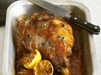 Honey and Marjoram Roast Lamb recipe