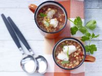 Spicy Lentil and Tomato Soup recipe