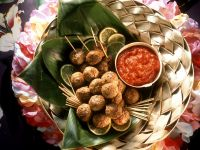 Spicy Meatballs with Tomato Sauce recipe