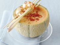 Spicy Melon Soup with Shrimp recipe