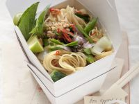 Spicy Noodle Salad in Container recipe