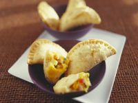 Spicy Panzerotti Dumplings recipe
