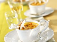Spicy Pumpkin and Coconut Soup recipe