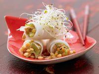 Spicy Radish Rolls recipe