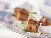 Spicy Salmon with Radish Salad recipe