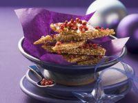 Spicy Sesame Brittle recipe
