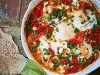 Spicy Baked Eggs recipe