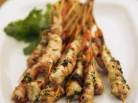 Spicy Shrimp Skewers recipe