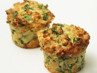 Spicy Spinach Muffins recipe