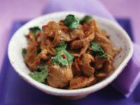 Spicy Thai-style Beef with Cilantro recipe