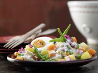 Spicy Vegetable Salad recipe