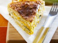 Spinach and Carrot Quiche recipe