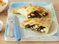 Spinach and Cheese Calzones recipe