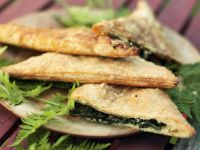 Spinach and Cheese Pasties recipe
