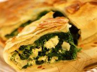 Spinach and Feta Spanakopita recipe
