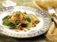 Spinach and Mandarin Salad recipe