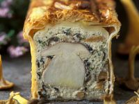 Wild Mushrooms En Croute recipe