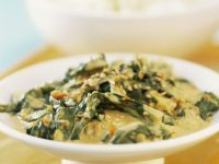 Spinach and Paneer Curry recipe