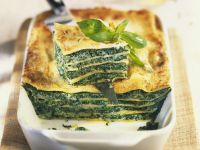 Spinach and Pasta Layer Bake recipe