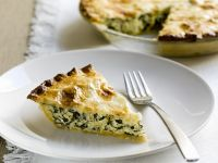 Spinach and Rice Pastry Pie recipe