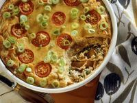 Cherry Tomato and Oily Fish Gratin recipe