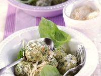 Spinach Dumplings recipe