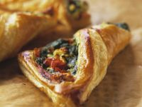 Spinach Feta Pastry Pockets recipe