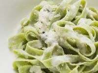 Spinach Pasta with Cheese recipe