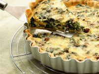 Spinach Pastry Tart recipe