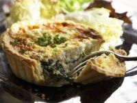 Spinach Quiche with Goat Cheese recipe