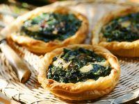 Individual Spinach Tarts recipe